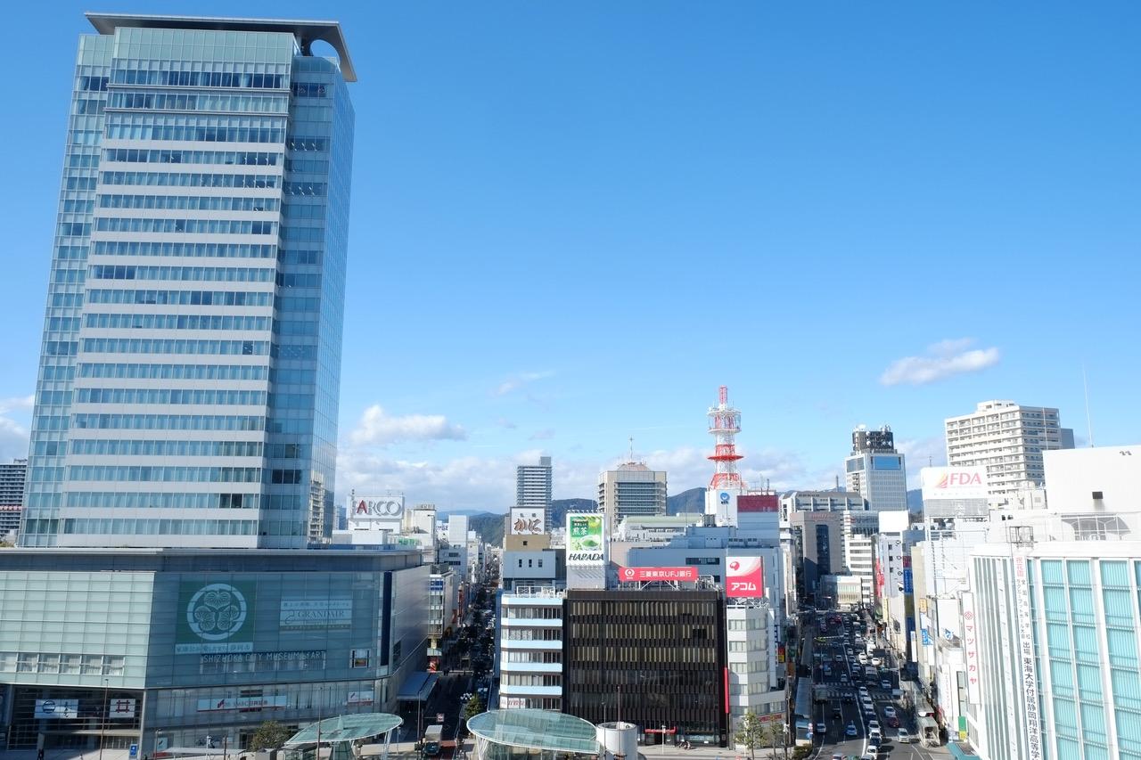 静岡県静岡駅前写真